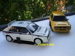 Lancia Delta Evoluzione HF Integrale Kyosho (MODEL CAR PASSION) Tags: 2 6 white yellow rally martini delta racing montecarlo turbo ii alfa romeo evo lancia abarth kyosho integrale autoart evoluzione