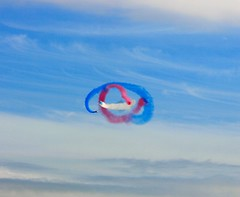 Red Arrows approach (Dutton8065) Tags: holiday funday redarrows anglesey rafvalley
