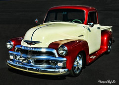 '54 Chevy Truck (Photos By Vic) Tags: old classic chevrolet truck vintage antique pickup 1954 chevy 54 carshow