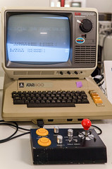 Atari 800 (Bephep2010) Tags: museum computer schweiz switzerland sony sigma atari enter 800 solothurn 30mm nex homecomputer nex6 30mmf28exdn