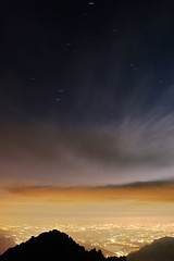 (∙ мake it ғuиky ∙) Tags: sunset mountain nature nikon tramonto peak natura luna lc notte lecco stelle grignetta vetta brioschi grigna d80 morrolo 2410m birroschi