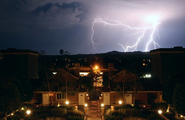 Lightning in San Mateo, No. 1