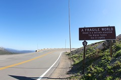 A Fragile World (daveynin) Tags: road sign nationalpark nps alpine rockymountain alpinetundra deaftalent deafoutsidetalent deafoutdoortalent