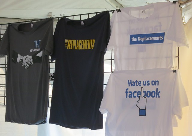 The Replacements reunion T-shirts
