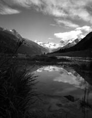 (gcasirati) Tags: summer white mountain black mamiya film contrast landscape switzerland day wide lakes delta mount tele medium format svizzera montagna ilford paesaggio pellicola mamiya7ii 7ii