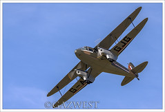DE HAVILLAND DH-89A DRAGON RAPIDE G-AGJG (Gaz West) Tags: de interesting dragon explore rapide havilland dh89a gagjg