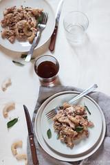 Rigatoni con prosciutto cotto e stracchino (Juls1981) Tags: cheese pasta primo nocciola formaggio moulinex firstcourse prosciuttocotto stracchino
