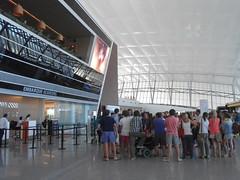 EMBARQUE-BOARDING, Aeropuerto de Carrasco MONTEVIDEO URUGUAY - www.meEncantaViajar.com (javierdoren) Tags: light reflection luz latinamerica southamerica sign america uruguay airport cool amrica gates skylight sunny aeroporto terminal reflejo montevideo amerika letrero aeropuerto boarding screens laterminal pantallas embarque puertas amricadosul amricalatina tragaluz uruguai aroport soleado sudamrica lateinamerika mccaf amricadelsur latinoamrica canelones claraboya aeropuertointernacional repblicaorientaldeluruguay ammerica aeropuertodecarrasco latijnsamerika lamriquelatine terminalareo bandaoriental easternbank departamentodecanelones orientalrepublicofuruguay bandaorientaldeluruguay easternstrip aeropuertodecarrascomontevideouruguay elaeropuertointernacionaldecarrascogralcesreolberisso aeropuertointernacionaldecarrascogralcesreolberisso embarqueboarding puertas18 gates18