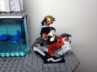 Lego battle for New York near the Stark tower