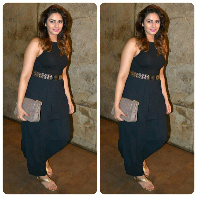 Huma Qureshi also came to attend the Special screening of Kangana Ranaut Upcoming Movie TANU WEDS MANU RETURNS. #HumaQureshi #instabollywood #bollywood #stylefile #TanuWedsManuReturns #bollywood #India
