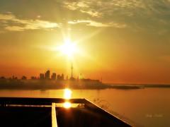 """      Beauty is not in the face; beauty is a light in the heart.""  -    Kahlil Gibran (Trinimusic2008 -blessings) Tags: trinimusic2008 judymeikle sunrise today morning viewsfrommycondobldg sun sky light hello toronto to ontario canada may 2015 love friendship abundance health harmony wellbeing thanks gratitude lakeontario skyline cntower cityoftoronto canadian panasonicdmczs45"
