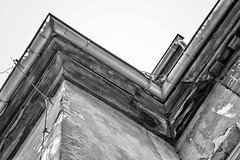 ZigZag (o_teuerle) Tags: bw ruine monochrom schloss dach zickzack tannenfeld