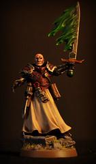 Ordo Malleus Inquisitor (Ruins of Arotha) Tags: miniatures 28mm 40k warhammer inquisition codex gamesworkshop inquisitor daemonsword
