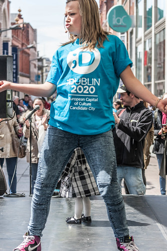 The Dance Party on Henry Street, Thursday 21st May, Midday-8pm REF-104280