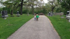 "Inde and Paul Hold Hands at the Oswego Cemetery • <a style=""font-size:0.8em;"" href=""http://www.flickr.com/photos/109120354@N07/17833394335/"" target=""_blank"">View on Flickr</a>"