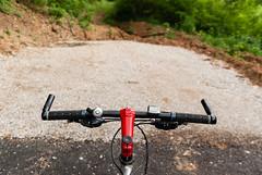 Kraj puta - End of the Road (coa75) Tags: road trip speed bell cable brakes asphalt handlebars handles bycicle macadam