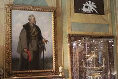 Wilhelm II at age 70 (Davydutchy) Tags: doorn huisdoorn wilhelm ii william kaiser emperor germany exile stately home keizer koning knig king prussia pruisen esszimmer dining room eetkamer schilderij painting gemlde portrait portret portrt