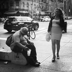 Ralph (ShelSerkin) Tags: shotoniphone hipstamatic iphone iphoneography squareformat mobilephotography streetphotography candid portrait street nyc newyork newyorkcity gothamist blackandwhite