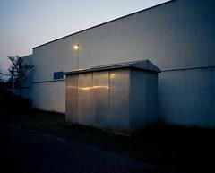 somewhere in Antwerp (thodoris markou) Tags: analog film mediumformat pentax67 6x7 color kodak portra 400 takumar smc 55mmf4 night city cityscape twilight reflection