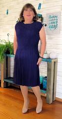 Purple dress (Trixy Deans) Tags: crossdresser cute cd crossdressing classic crossdress cocktaildress tgirl tv transvestite transgendered transsexual tranny trixydeans tgirls sexy xdresser sexytransvestite sexyheels sexylegs sexyblonde shortdress