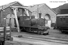 20/06/1963 - Ryde St Johns (70H) depot, Isle of Wight. (53A Models) Tags: britishrailways adams lswr southernrailway o2 044t w30 shorwell steam passenger rydestjohns 70h mpd isleofwight train railway locomotive railroad