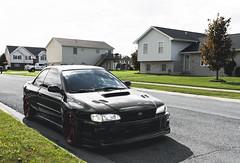 Subaru RSTi (Richy Contreras) Tags: subaru impreza wrx sti bugeye meaneye awd turbo stance jdm japan fall canon 5d automotive car