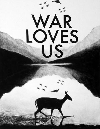Florian Heinke 'War Loves Us 03', 2016 Acrylic on untreated canvas 90x70cm