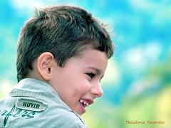 just a single smile (2) (teogera) Tags: hellas greece macedonia makedonia pieria litochoro motox motocross circuit olympus e1 sigma f355655200mm        portrait