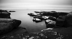 (Muppian) Tags: longexposure land stersjn water sea stone