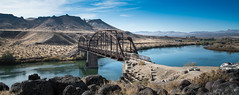 Guffey Bridge, Idaho (maytag97) Tags: idaho maytag97 celebrationpark bridge parkerthroughtrussrailroadbridge parkerthroughtrussbridge guffeybridge landscape snakeriver guffey nikon d750