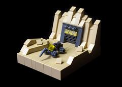 MicroRover (Sad Brick) Tags: lego space micro microscale moc