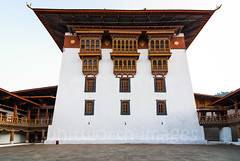 Punakha Dzong (whitworth images) Tags: stone dual building asia courtyard dzong himalayas travel carved bhutan punakhadzong imposing administrative government himalaya religious fortress punakha secular galleries decorated decoration architecture monastery large interior paved traditional punakhadzongkhag