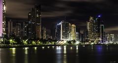 Panama Nights (Bernai Velarde-Light Seeker) Tags: panama city central centro america buildings edificios apartments apartamentos urban urbano ciudad bernai velarde sea mar ocean oceano pacific pacifico