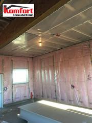 Batt and poly (komfortinsulation) Tags: komfortinsulation insulationsaskatoon insulationcanada insulation battandpoly batts poly ceiling komfort