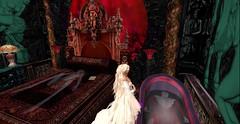 My kind of bedroom ;) (Allie Carpathia) Tags: horror gore blood bathtub bodies beauty autumn halloween hauntedhouse secondlife