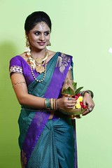 South Actress Deepika Das Traditional Photos Set-1 (11)