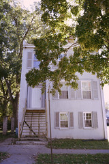 Boonville, MO (Jennifer Steere) Tags: boonville architecture house missouri mo autumn fall home historic staircase shutters white 3story