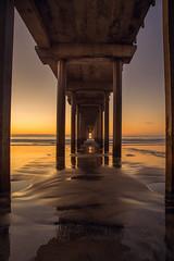 Scripps Pier (PhotoJacko - Jackie Novak) Tags: sandiego scrippspier lajolla california beach sunset pier seascape ocean sand water goldenhour canon6d