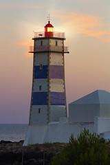 Lighouse - Cascais (massonth) Tags: eos 60d canon cascais portugal lisbon lisboa sun sunset water sea atlantic ocean warm ligh sky