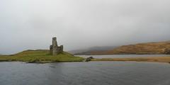 Ardvreck Castle, Loch Assynt, Sutherland, Nov 2016 (allanmaciver) Tags: ardvreck castle assynt mist rain wet loch ruin north scotland visit wind allanmaciver marquis montrose carbisdale battle 1650 1672