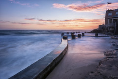 Barrier (Crouchy69) Tags: sunrise dawn landscape seascape ocean sea water coast clouds sky long exposure ross jones memorial pool coogee beach sydney australia