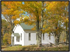Seybert Chapel Church (cscott_va.) Tags: 2016 fall virginia county highland church
