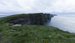 Moher Cliffs (imægo the ill iterator) Tags: eire ireland moher cliffs europe sea landscape green grass clare mhothair