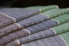 M and W Twill Towels (reeniebeanie) Tags: m w twill towels handtowels weaving handwoven 82 cotton