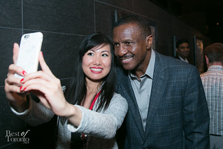 Maggie and Coach Dwayne Casey