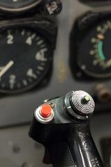 The Stick (peterkelly) Tags: digital canada northamerica canon 6d windsor canadianhistoricalaircraftassociation jet instrumentpanel stick stickshift airplane plane controls gauge