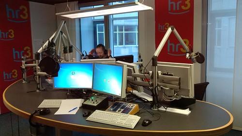 Peter Lack im HR-3 Studio - live