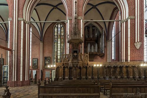 Doberaner Münster • Kanzel und Chorgestühl