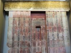 UK - London - West End - British Museum - False door and architrave of Ptahshepses (JulesFoto) Tags: uk england london westend britishmuseum ancientegypt door