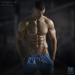 Daniel Blackwell NFM (TerryGeorge.) Tags: dexter terry george natural fitness models abs six pack workout toned athletic muscle shirtless male underwear model fit naked sexy